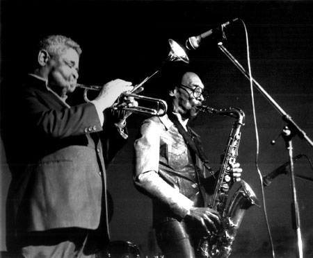 Dizzy Gillespie and Sam Rivers, 1988